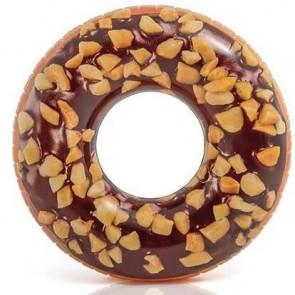 Schoko Donutschwimmreifen