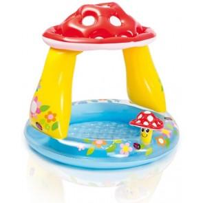 Baby zwembad paddestoel