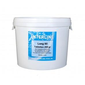 Interline Chloortabletten - Long90 200gram/10kg
