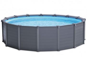 Intex zwembad Graphite Panel 478 x 124 cm