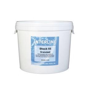 Interline Shock 55 chloorgranulaat 10kg