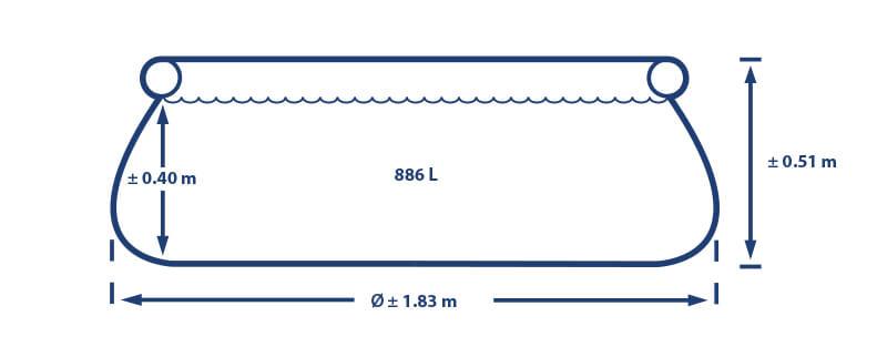 Easy Set 183x51